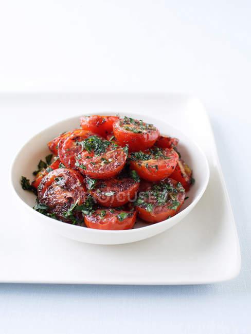 Смажені помідори-чері — стокове фото
