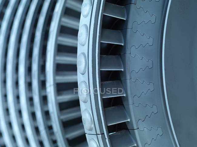 Close up of Detail Of Turbine — Stock Photo