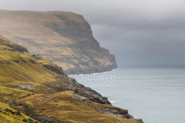 Litoral em Ilhas Faroé — Fotografia de Stock
