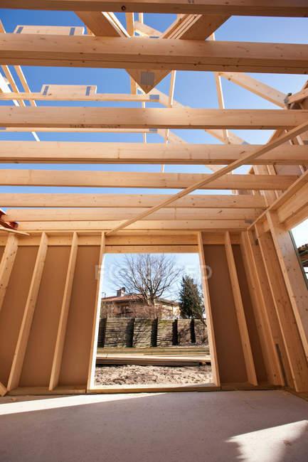Будівництво. — стокове фото