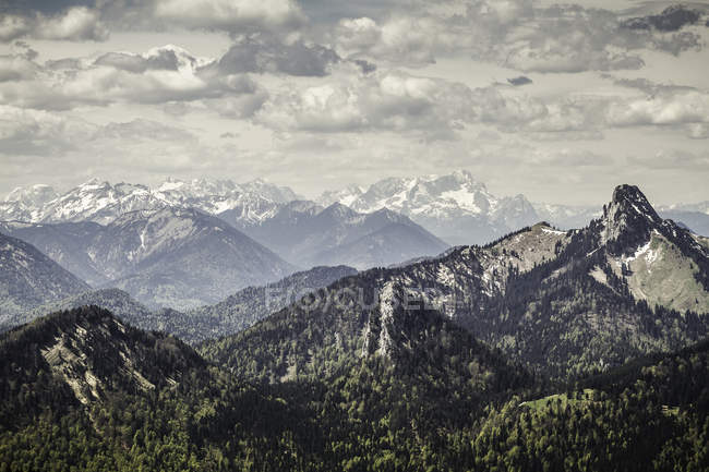 Vue du Mt Wallberg — Photo de stock