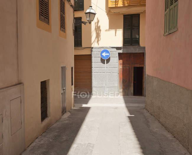 Вулиці з дороговказом — стокове фото