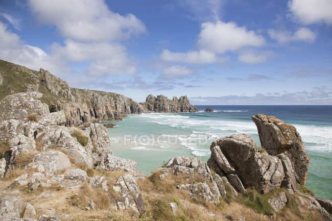 Cliffs at Logan Rock — Stock Photo