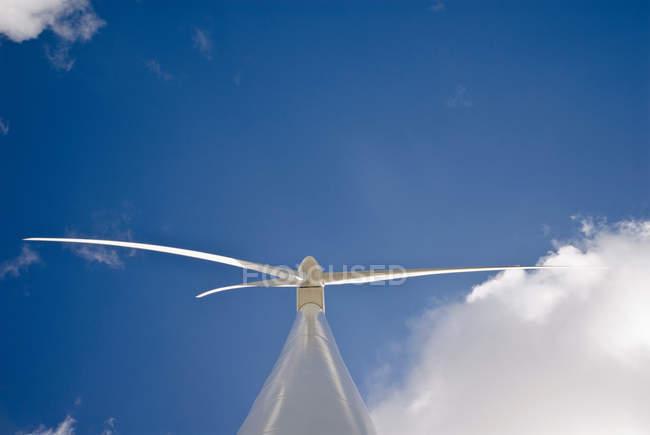 Vista da turbina eólica — Fotografia de Stock