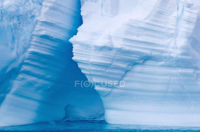 Ghiaccio nell'Oceano Meridionale — Foto stock