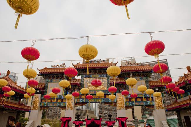 Сік сік Юн Вонг Тай гріх храм — стокове фото