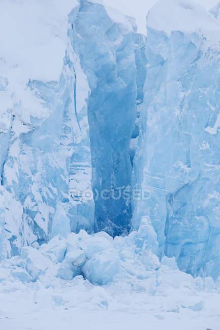 Geleira Von Post em Spitsbergen — Fotografia de Stock