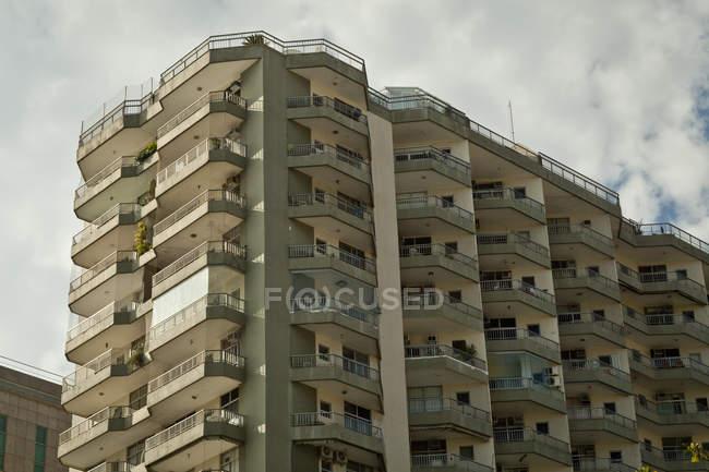 Багатоквартирний будинок, Ріо-де-Жанейро, Бразилія — стокове фото