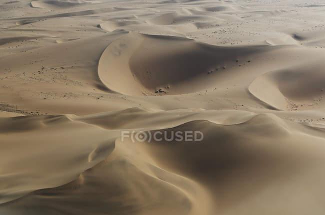 Blick auf Dünen Namib-Wüste — Stockfoto