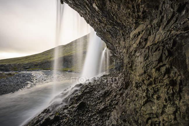 Waterfall at Innstifoss, Iceland — Stock Photo