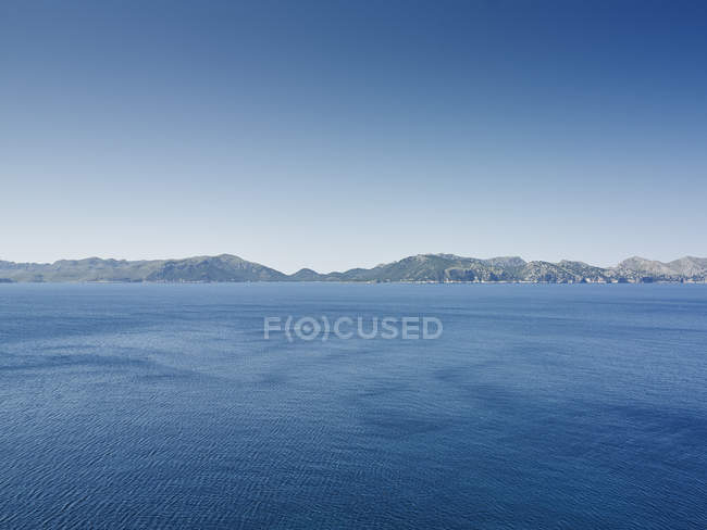 Coastal view of Majorca at daytime, Spain — Stock Photo