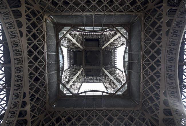 View below Eiffel Tower — Stock Photo