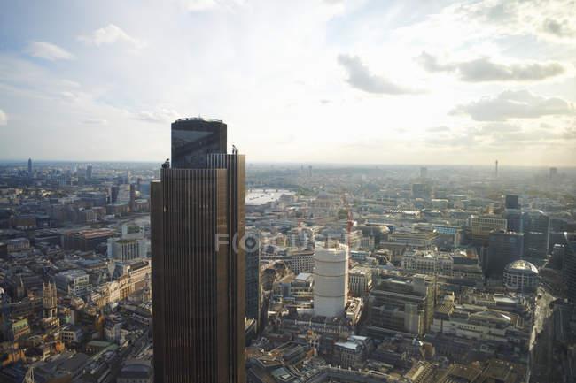 Vue aérienne de la tour Natwest, Londres, Angleterre — Photo de stock