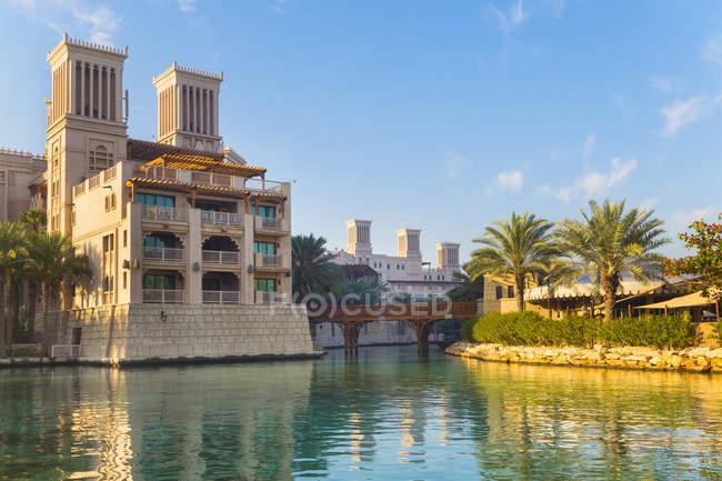 Мадинат Джумейра, Дубай, Объединенные Арабские Эмираты — стоковое фото