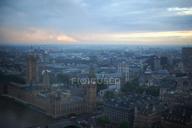 Ben and Westminster Palace at dawn — Stock Photo