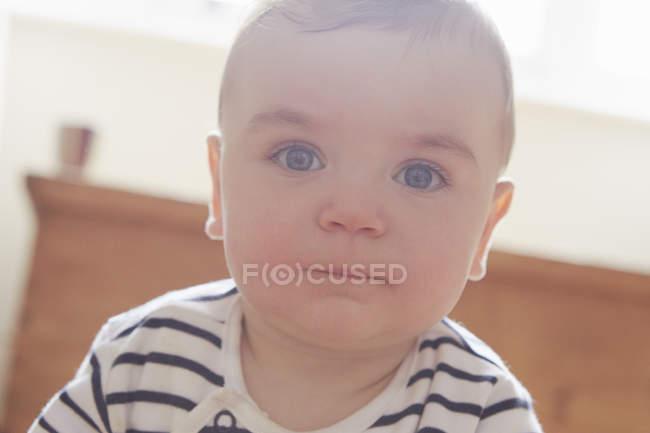 Ritratto di bambino, attenzione selettiva — Foto stock