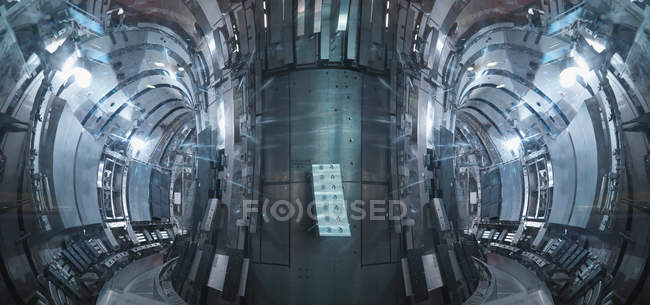 Inside A Fusion Reactor — Stock Photo