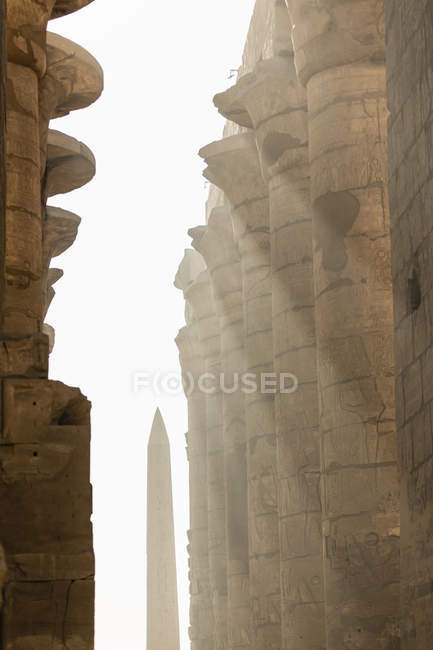 Complexe du temple Karnak, Louxor, Égypte — Photo de stock