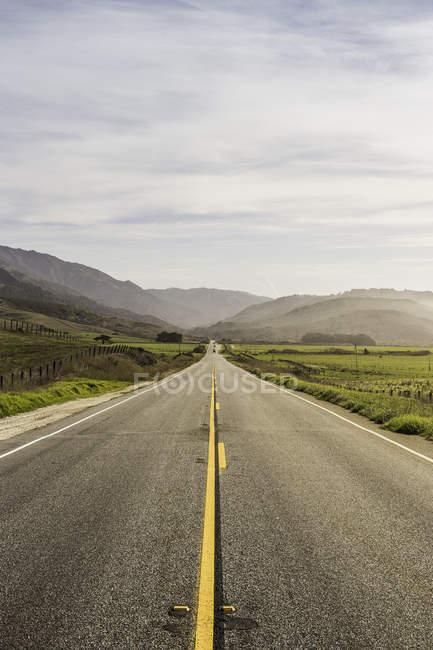 Paysage et highway 1, Big Sur, Californie, é.-u. — Photo de stock