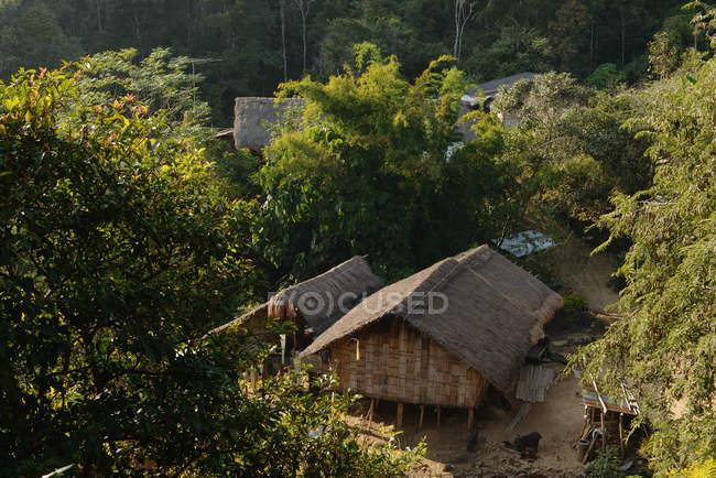 Пан Яфу, деревня, горное племя, дом Фабу, Таиланд — стоковое фото