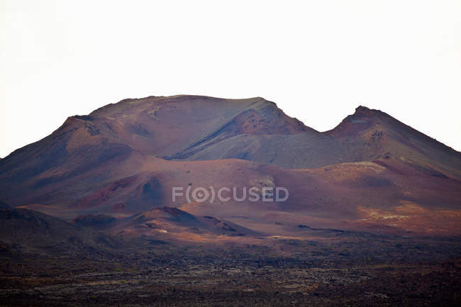 Mountains in rural landscape — Stock Photo