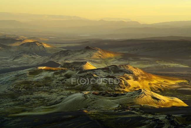 Lakagigar volcanic craters, Skaftafell National Park, Iceland — Stock Photo