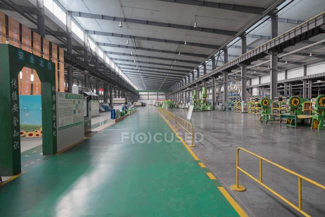 Solar panel assembly factory, Solar Valley, Dezhou, China — Stock Photo
