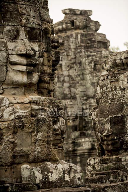 Bayon Temple, Angkor, Siem Reap, Cambodia, Indochina, Asia — Stock Photo