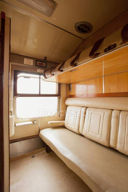 Sleeper Kabine kenianische Eisenbahn Zug — Stockfoto