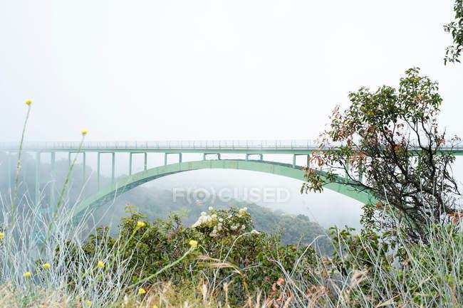 Vista sul Ponte di Santa Barbara — Foto stock