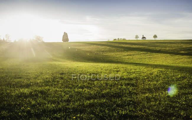 Vista panorâmica de Rosenheim, Baviera, Alemanha — Fotografia de Stock