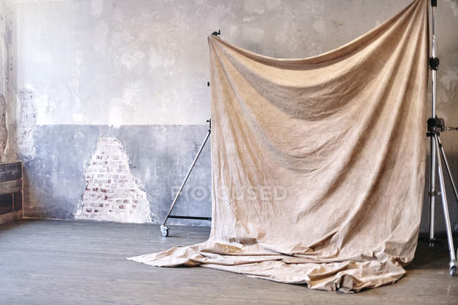 Still life of photography backdrop in studio — Stock Photo