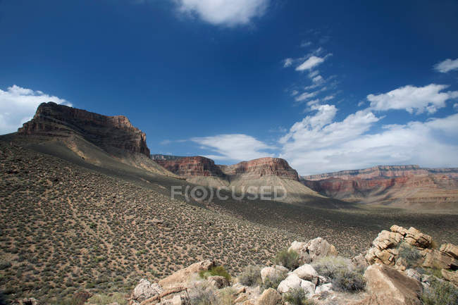 View of New Hance, Grandview Hike — Stock Photo