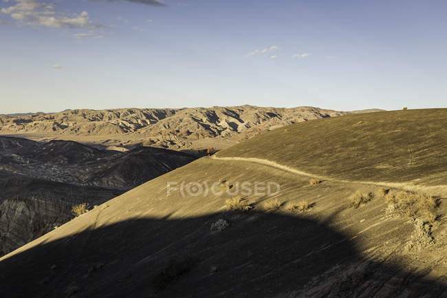 Landscape at Ubehebe Crater in Death Valley National Park, California, USA — Stock Photo