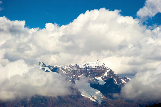 Blick auf Snowcap am Masl pass — Stockfoto