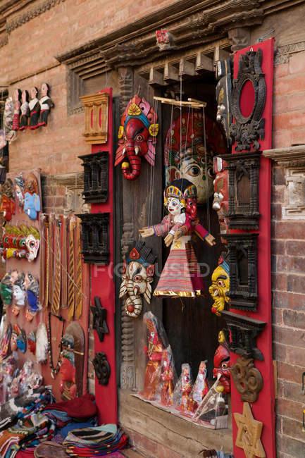 Miniature dolls for festivals, Kathmandu, Nepal — Stock Photo