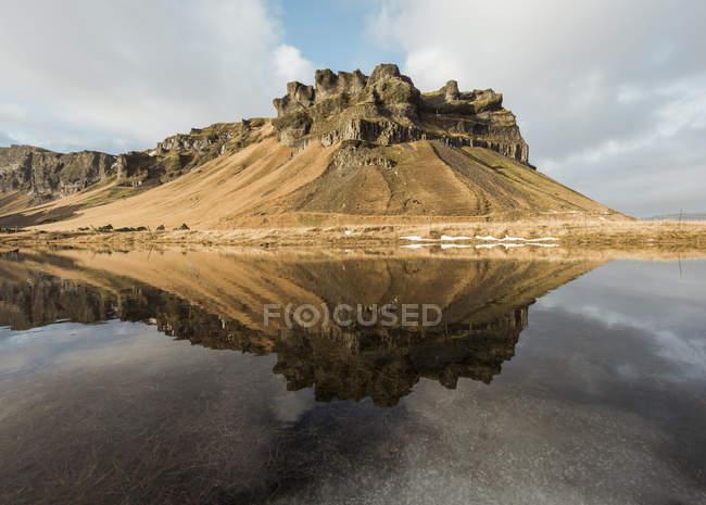 Vista panoramica di Thverarnupur, Islanda — Foto stock