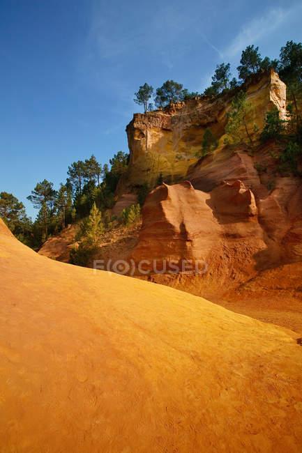 Sanddüne in der Wüste — Stockfoto