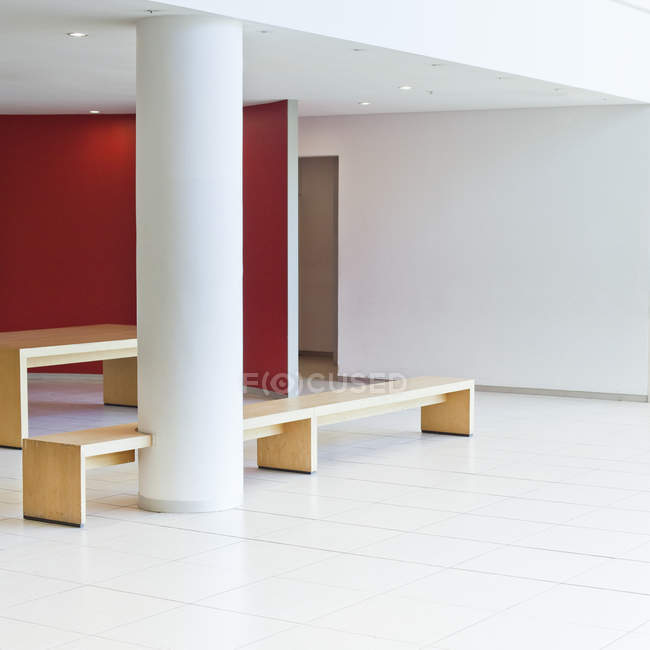 View of modernwaiting area at office — Stock Photo