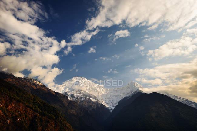 Chomrong Village Area, Abc trek, Annapurna Base Camp trek, Nepal — Foto stock
