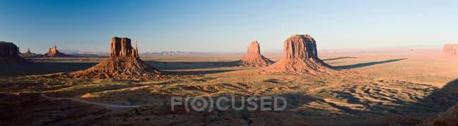 Vista de Monument Valley — Fotografia de Stock