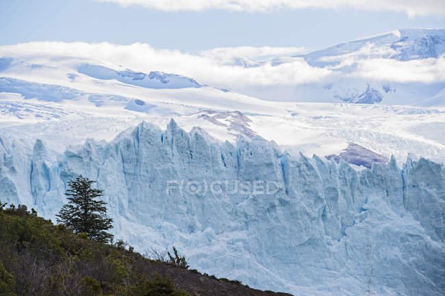 Perito Moreno Glacier, Los Glaciares National Park, Southwest Santa Cruz Province, Argentina — Stock Photo