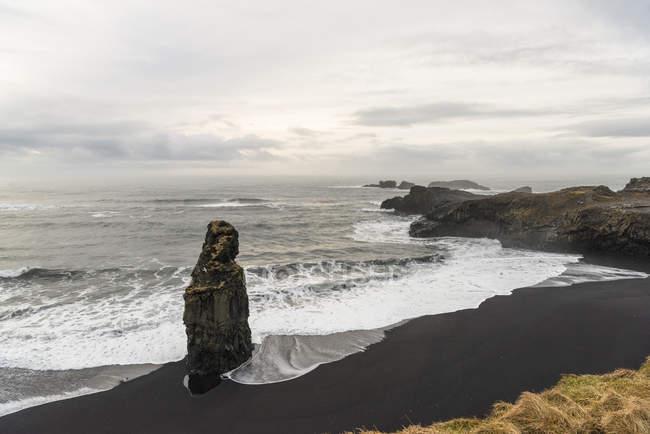 Scenic view of Reynisfjara, Iceland — Stock Photo
