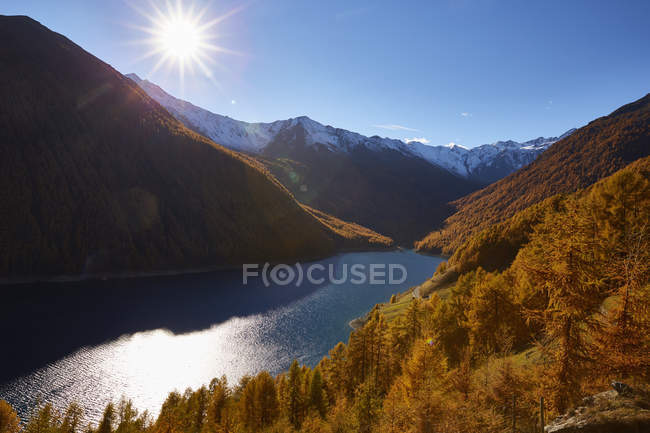 Scenic view of Schnalstal, South Tyrol, Italy — Stock Photo