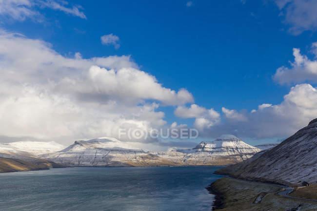 Scenic view of Vagafjordur, Faroe Islands — Stock Photo