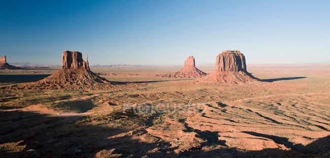 Видом на Monument Valley — стокове фото