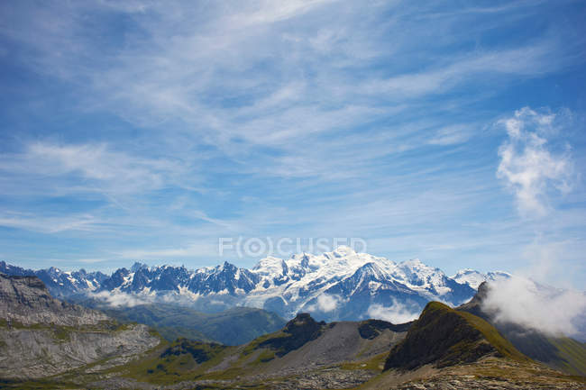 Berge in Felslandschaft — Stockfoto