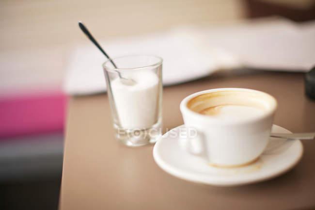 Пустой кофе — стоковое фото