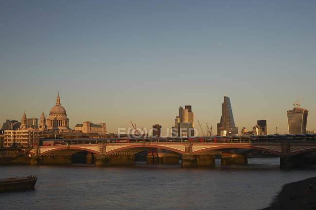 Vue du pont de Blackfriars — Photo de stock