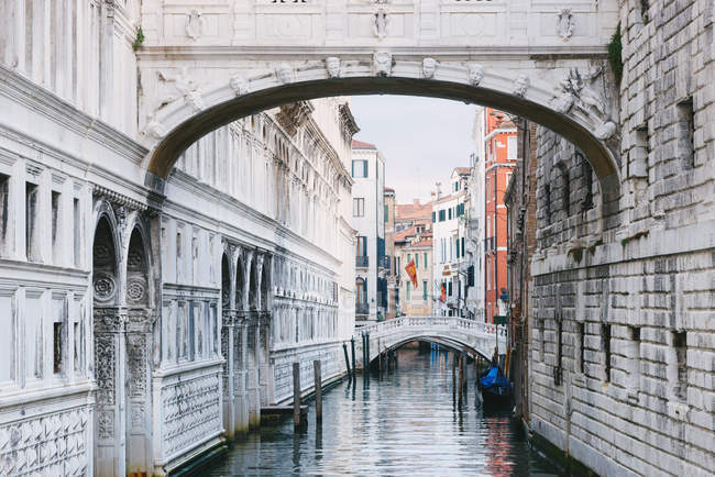 Vista do Grande Canal, Veneza, Itália — Fotografia de Stock